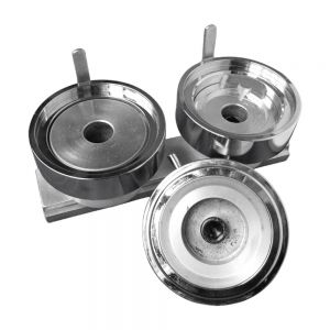 """2"""" (50mm) One Piece Type Round Interchangeable Die Mould for DIY Badges Making"""