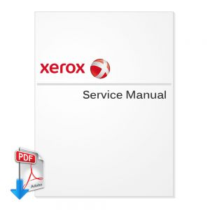 XEROX DocuColor 12, Document Centre Color Series 50 Service Manual