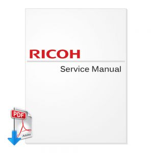 Ricoh Aficio 2090 Service Manual