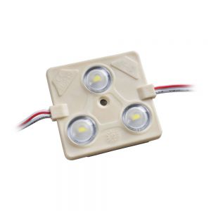 SMD 5730 High Power Waterproof LED Module (3 LEDs, White Light, 1.44W, L44 x W43mm) for Lightbox