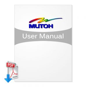 Mutoh VJ-XX28TD User Manual (Free Download)