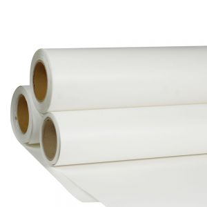 "24"" x 98´ Roll White Color Printable Heat Transfer Vinyl For T-shirt Fabric"