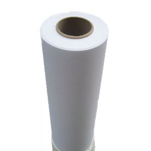 "60"" (1.52m) White Glue Self-adhesive Vinyl Film/Vehicle Wrap(One year warranty)"