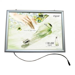 "A3 (16.5"" x 11.7"") Curved Snap Frame LED Slim Light Box (Without Printing)"
