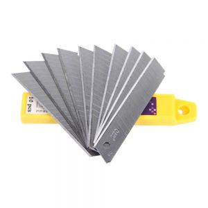 18mm Practical Snap Off Wall Paper Craft Cutter Utility Knife Blade
