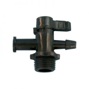 Manual Two-way UV Valve (plastic)