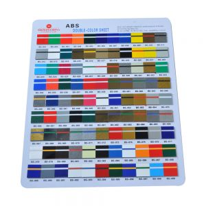 Sample-ABS double-color sheet (Smooth surface)