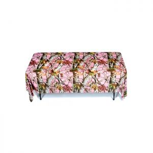 6ft Rectangular Table Throws with Customs Dye-sublimation Full Color Printing