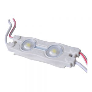 SMD 2835 Waterproof LED Module (2 LED Chips with Optical Lens, White Light, 0.72W, L54 x W16 x H7mm)