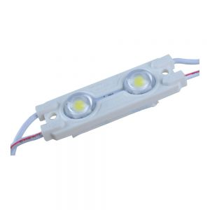 SMD 5050 Waterproof LED Module (2 LED, White light, 0.48W, L41 x W15mm)