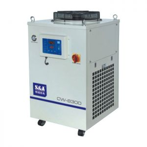 S&A 3.6HP, AC 1P 220V 60HZ CW-6300BN Industrial Water Chiller (Cooling a Single 300W YAG laser, 300W CO2 RF Laser Tube, 300W Laser Diode)