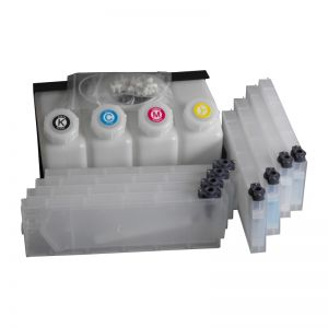 Roland Bulk Ink System--4 Bottles, 8 Cartridges