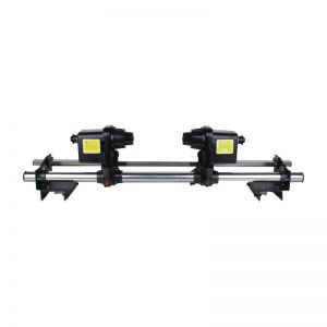 """74"""" Automatic Media Take up Reel SD74 Two Motors for Mutoh/ Mimaki/ Roland/ Epson Printer"""
