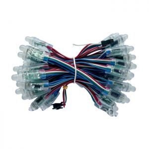 12mm UCS 1903 DC5V Waterproof IP65 RGB Full Color LED Pixel Digital Diffused LED Module String