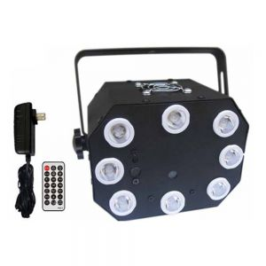 S07 Laser and LED 24 in 1 Laser Stage Lighting