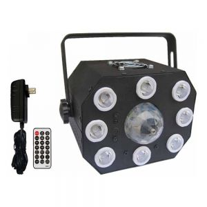 PAR Lamp and Rotation Ball 2 in 1 LED Stage Lighting