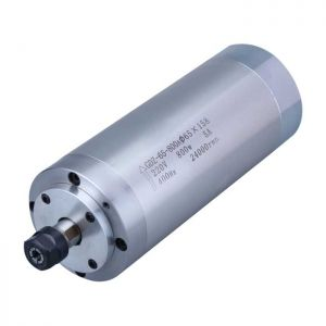 0.8KW 24000rpm Water Cooled Spindle Motor for CNC Engraving Milling Grinding, 220V, Dia. 65 x 158mm