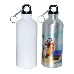 500ml Blank Aluminum Sports Bottle for Sublimation Printing Dia 2.83""