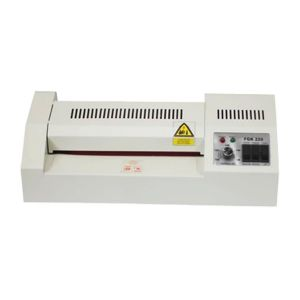 "8"" Outside Heating Adjustable-temperature Hot Cold Pouch Laminator"