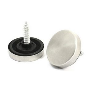 22mm Fitting Parts Stainless Steel Decorative Screw Cap Mirror Nails for Acrylic Fixings