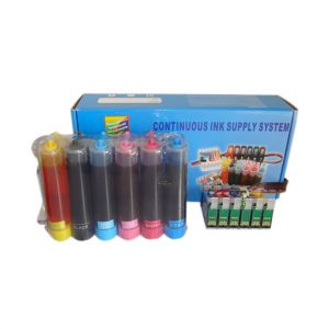 Compatible CISS Bulk Ink Supply Contained Sublimation Ink for Epson Stylus Printer R330