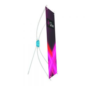 20pcs Transparent Table X Banner