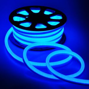 AC110V/220V Waterproof Flexible LED Neon Rope Lights with 120leds/m SMD 2835 LED 9W/M IP65, 50m(164ft)/Roll/Pack
