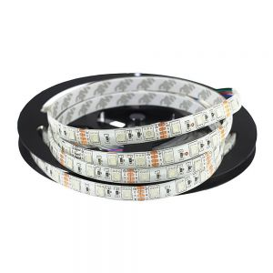 16.4FT 5M Waterproof 300 LED Strip Light 5050 SMD RGB String Ribbon Tape Roll 12V