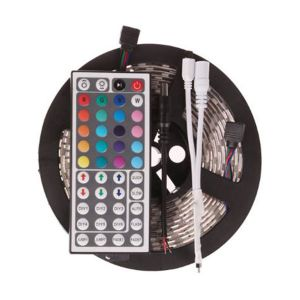 5050 Waterproof RGB Colourful Strip + 44 Key Remote Control