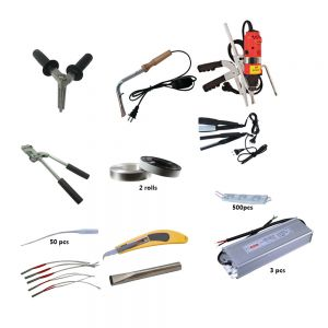 Middle Size (0.5-1m) Metal Channel Letter Making Starter Sets (Include bender, aluminum coil, LED Module, power supply)