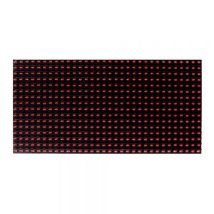 Limited Offer, RED LED Display P10 Dot Matrix Module Red Sign 16x32cm