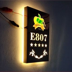 Single Sided LED Advertising Light Box Sign, Shop Sign, Door Sign for House, Bar, Café, Characteristic Scenic Spot