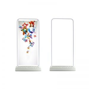 Door Type Poster Display Banner with Water Based (Stand Only)