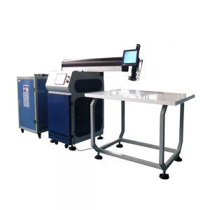 Ving 400W YAG Laser Welding Machine for Fine Metal Channel Letter Making