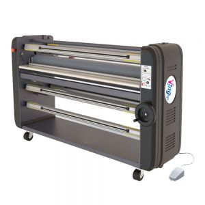 "Ving 63"" High End Warm Assist Laminator, Single Piece Metal Construction with Entire ABS Tooling Cover"
