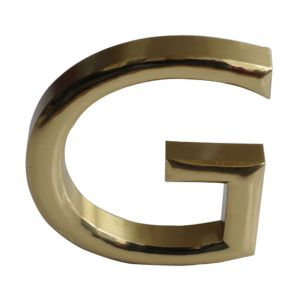 Custom Sphere Stainless Steel Letters, Advertising Wall Signs Letters (Height: 39.5~118.1 inch)