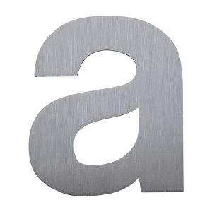 Laser Cut Stainless Steel Letters & Numbers (Item Height: 0.78-3.94 inch)