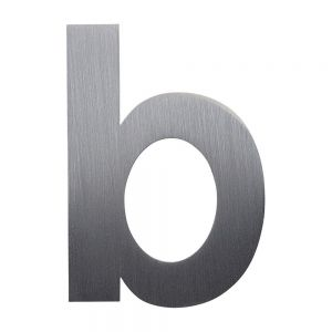 Laser Cut Stainless Steel Letters & Numbers (Height: 3.95-39.37 inch)