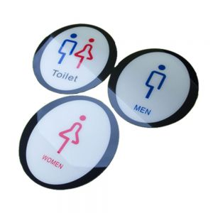 Male, Female, Male & Female, Toilet, Restroom Signs