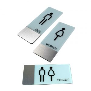 Male, Female, Male & Female Toilet Signs, Restroom Signs
