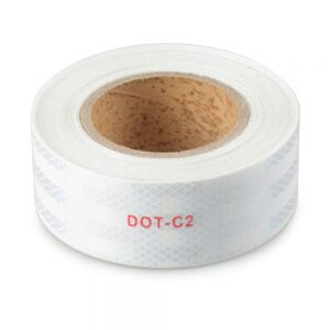 """2"""" x 5yd Micro Prismatic Sheeting Reflective Vinyl Tape Roll"""