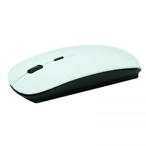3D Blank Sublimation Wireless Mouse Printable Heat Transfer Computer Mouse Black and White Color