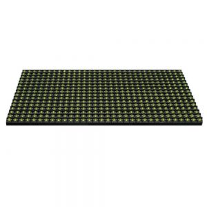 "Outdoor Yellow LED Display P10 Dot Matrix Module Yellow Sign (6.3"" x 12.6"" x 0.5"")"