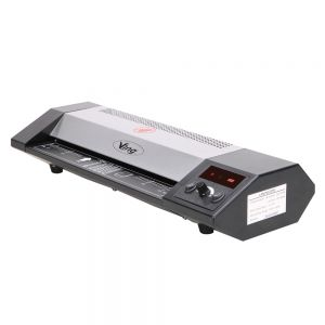 """13"""" A3, A4 Steel Thermal Laminator Roller Pouch Photo Office, Digital Display Temperature, 4 Roller System"""