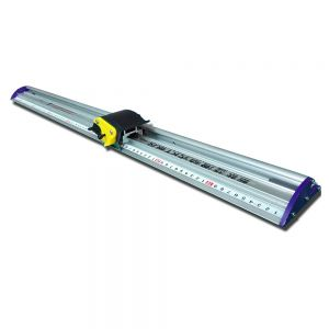 "51"" 130cm Sliding KT Board Cutting Ruler, Paper Trimmer Ruler, Photo Cutter with Ruler"