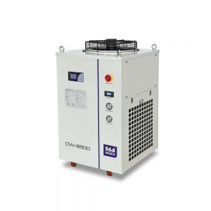S&A CW-6500BT Industrial Water Chiller (Cooling a 2KW Fiber Laser Tube),3.46HP, AC 3P 380V 50HZ
