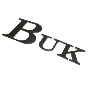 Stainless Steel Plate Cutting Solid Word Symbol Customization