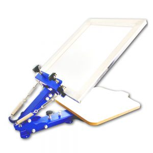 1 Color Screen Printing Manual Screen Printing Equipment