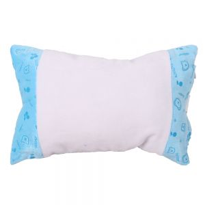 Sublimation Blank Little Neck Pillow Case with Bear Pattern Cartoon Fashion Cushion Cover