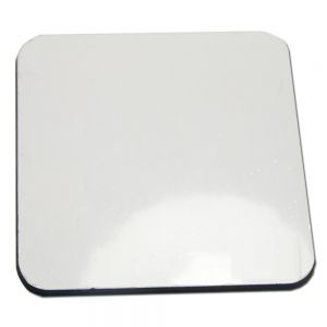 20pcs/parcel Blank Sublimation Coated MDF Coasters with Normal Back